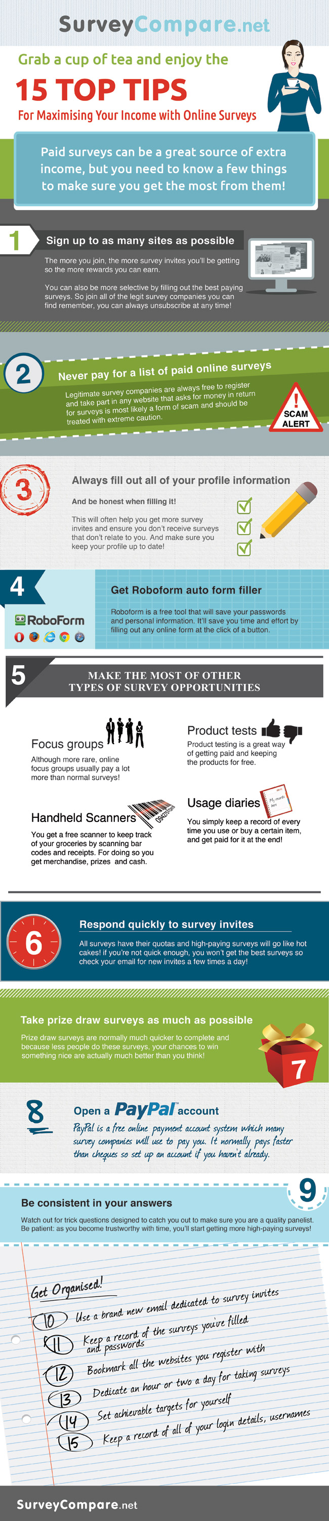 How to Earn More With Surveys [Infographic]